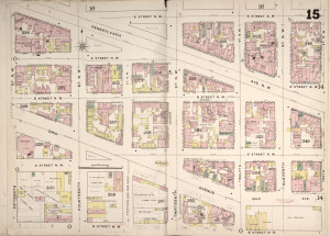 Sanbron Fire Insurance Map, District of Columbia
